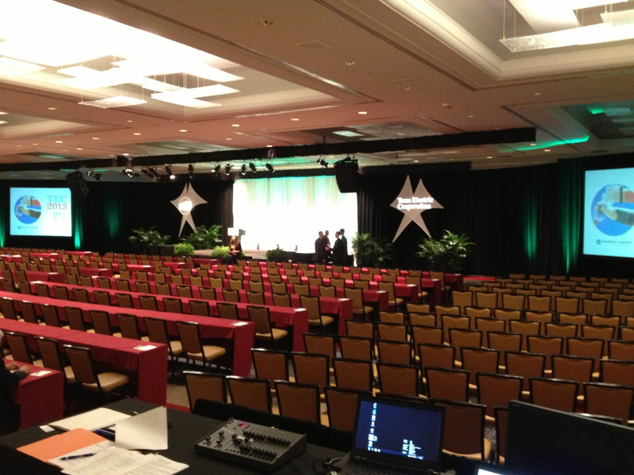 Night Owl Recording with PSAV and TEA at the Renaissance in Austin, Texas