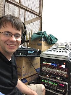 Allen Kyle of Night Owl Recording multitrack audio mobile location recording in San Antonio, Texas