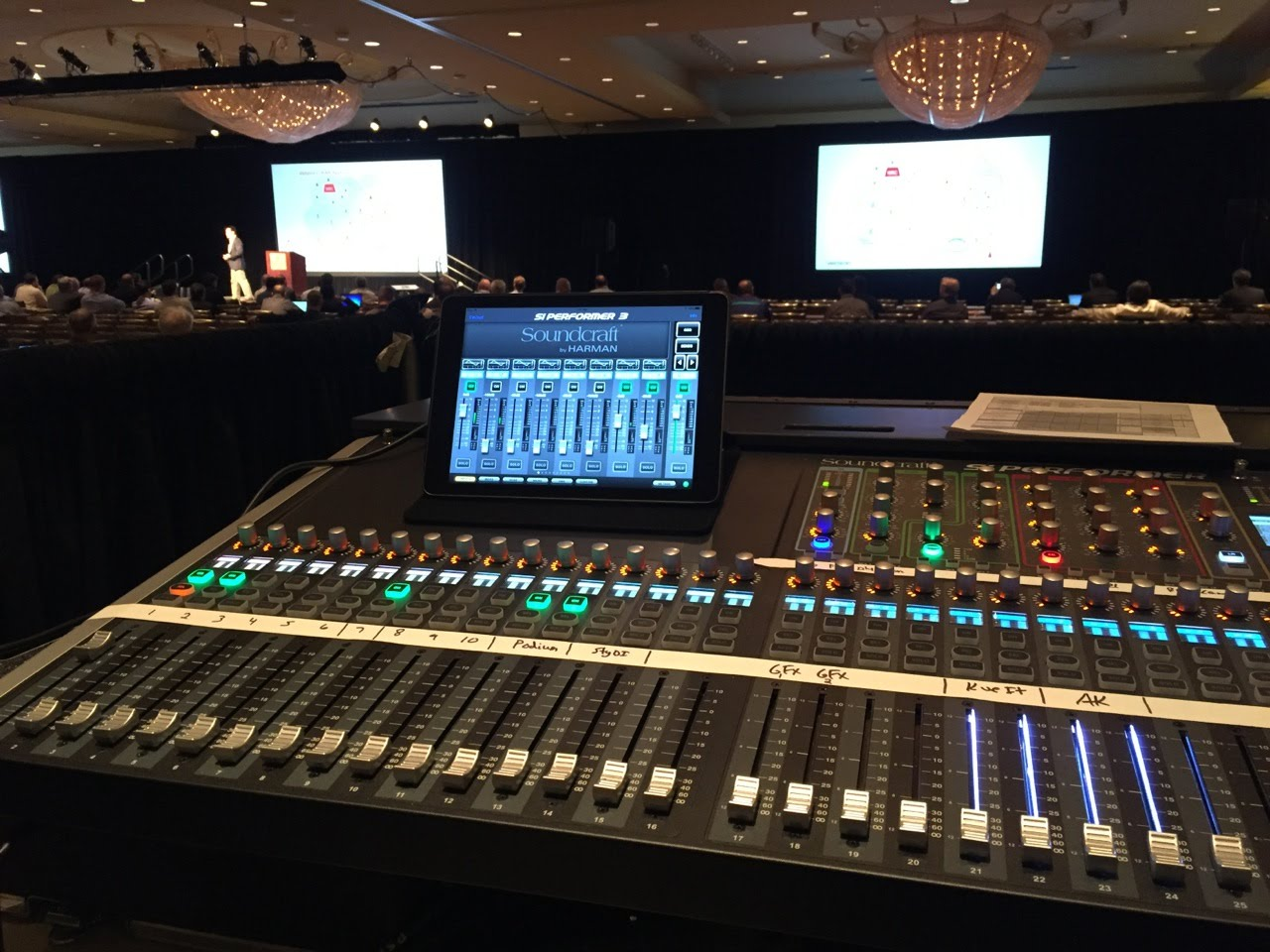 Night Owl Recording Austin Texas with the Soundcraft Digital Performer