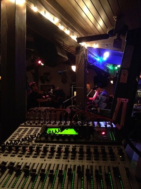 Allen Kyle Night Owl Recording with Jennifer B and the Groove Kings mobile recording at Brizo's Lago Vista Texas