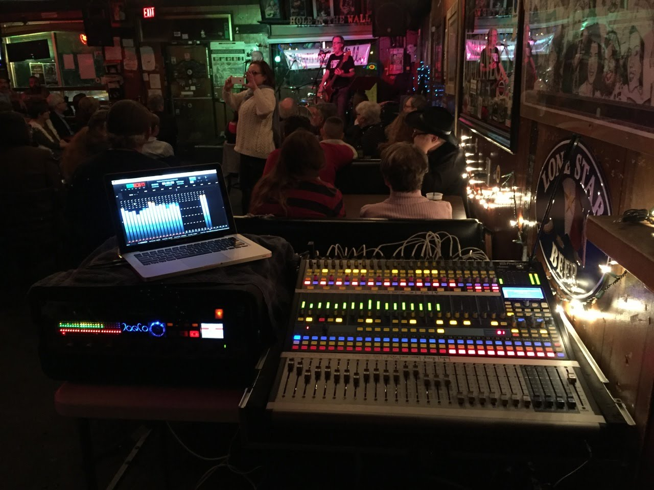 Night Owl Recording Austin Texas new Presonus Studiolive AI console 01